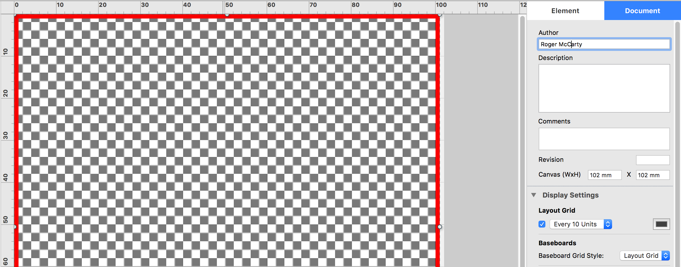 shows minimum canvas size limits.
